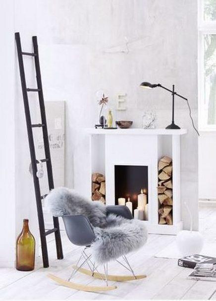 decoratieve ladders voor in de woonkamer inrichting