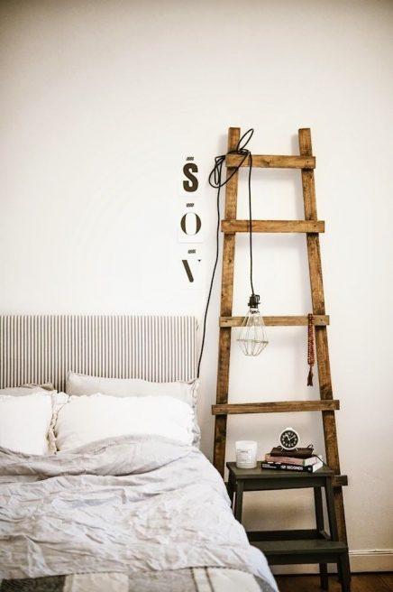 Decoratieve ladders voor in de woonkamer