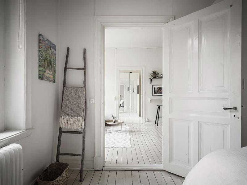 decoratieladder slaapkamer