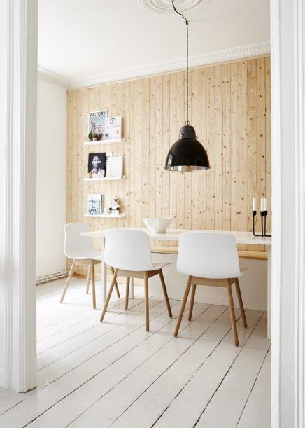 Deens appartement van Thomas met Scandinavisch interieur