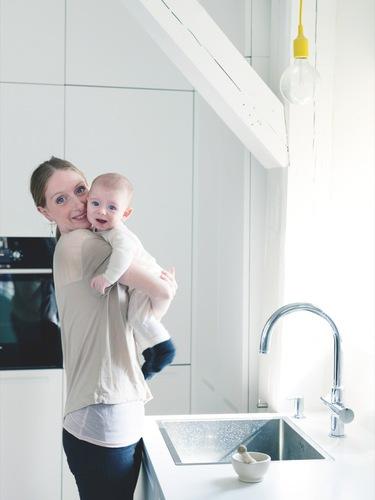 Deense appartement van ballet danseres Kizzy