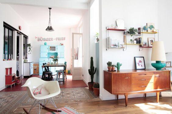 Deense vintage dressoir