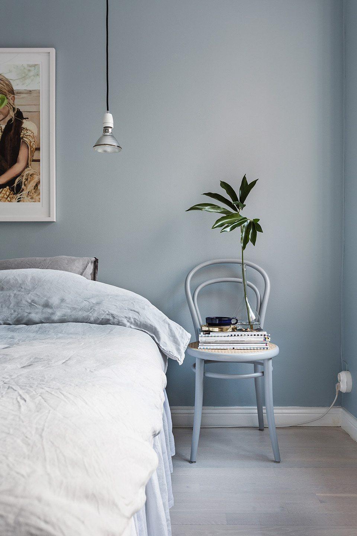 Denim drift slaapkamer muur