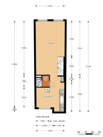 derde etage