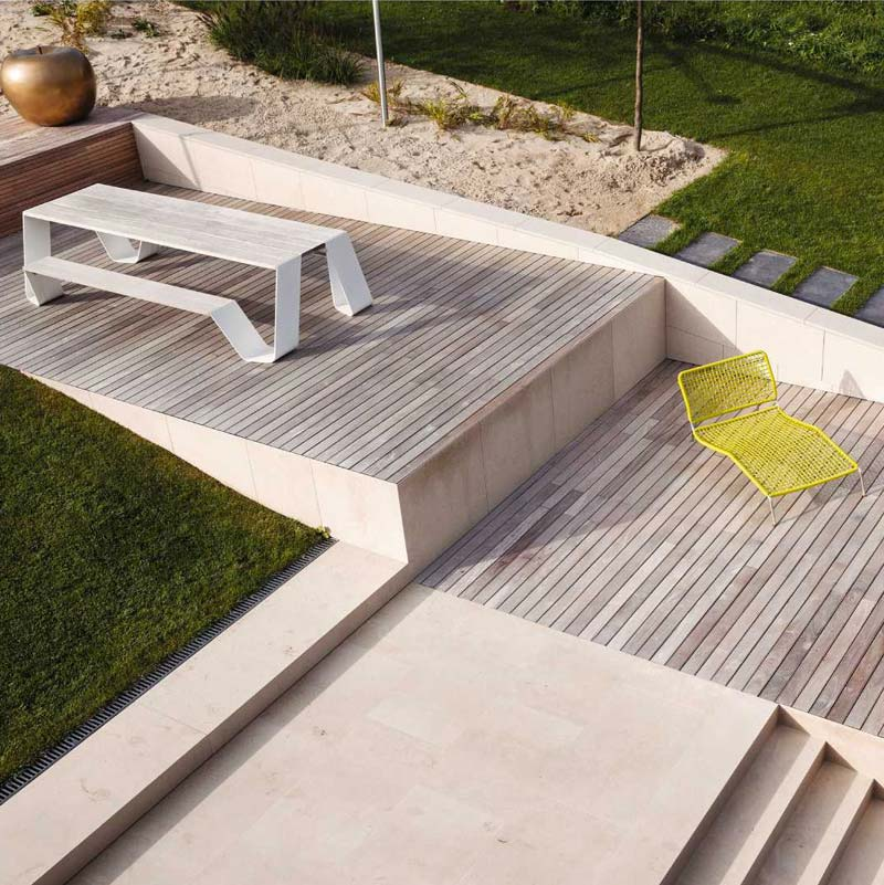 Design tuinmeubelen - Extremis Hopper Picnic tafel