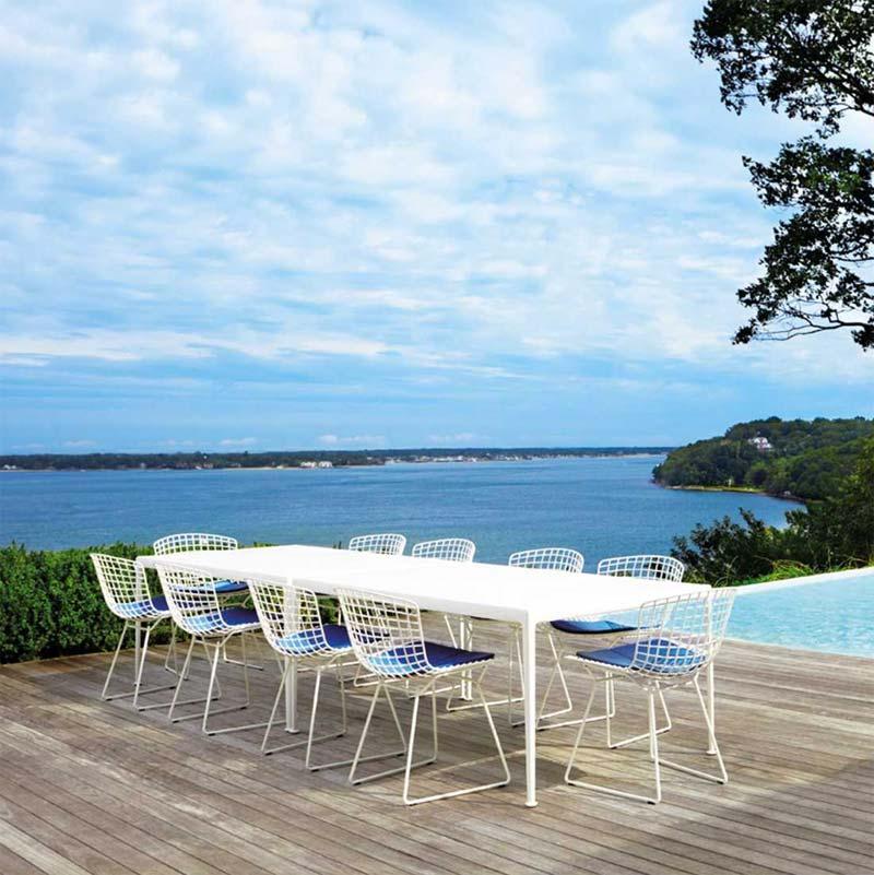 Design tuinmeubelen - Knoll Bertoia Side Chair Outdoor