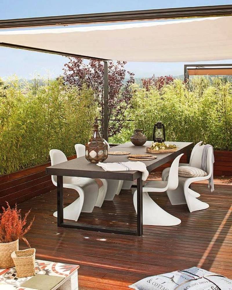 Design tuinmeubelen - Vitra Panton Chair