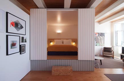 designhotel flattered in porto inrichting