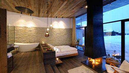 Designhotel wiesergut inrichting for Design hotel juist