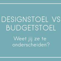 Designstoel vs budgetstoel