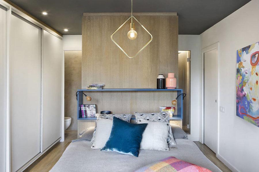 Deze mooie slaapkamer suite is erg creatief ingericht!