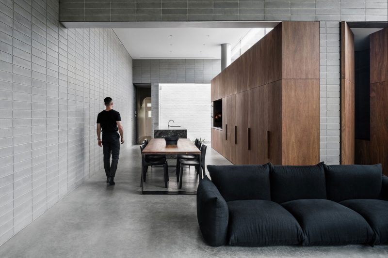 8x Minimalistische Werkplek : Deze traditionele woning uit australië is op een unieke manier