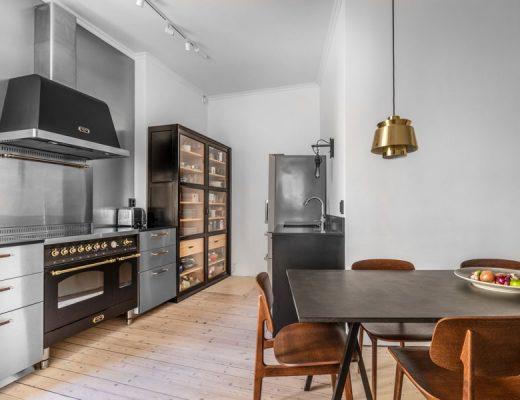 Deze vintage keuken is chique én stoer!