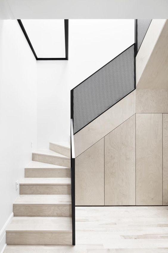 dichte trappen met stootborden