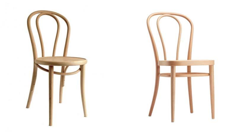 Dille & Kamille of Thonet stoel