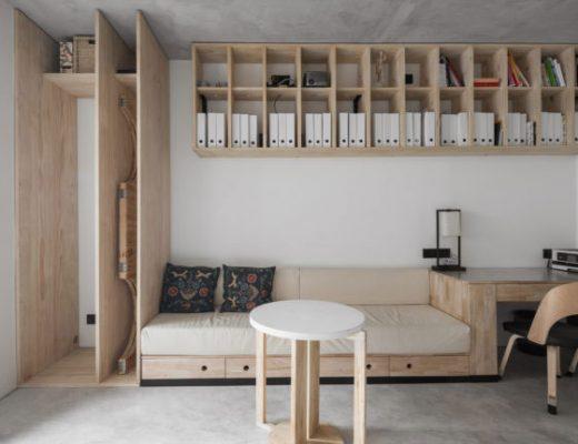 Dit appartement uit China is heel stijlvol en stoer verbouwd!
