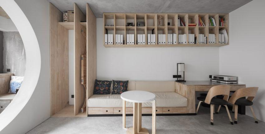 Stoer Inpandig Balkon : Dit appartement uit china is heel stijlvol en stoer verbouwd