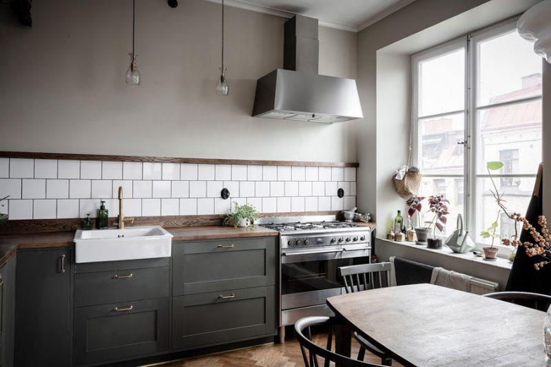Dit super mooie appartement heeft een charmante vintage look gekregen!