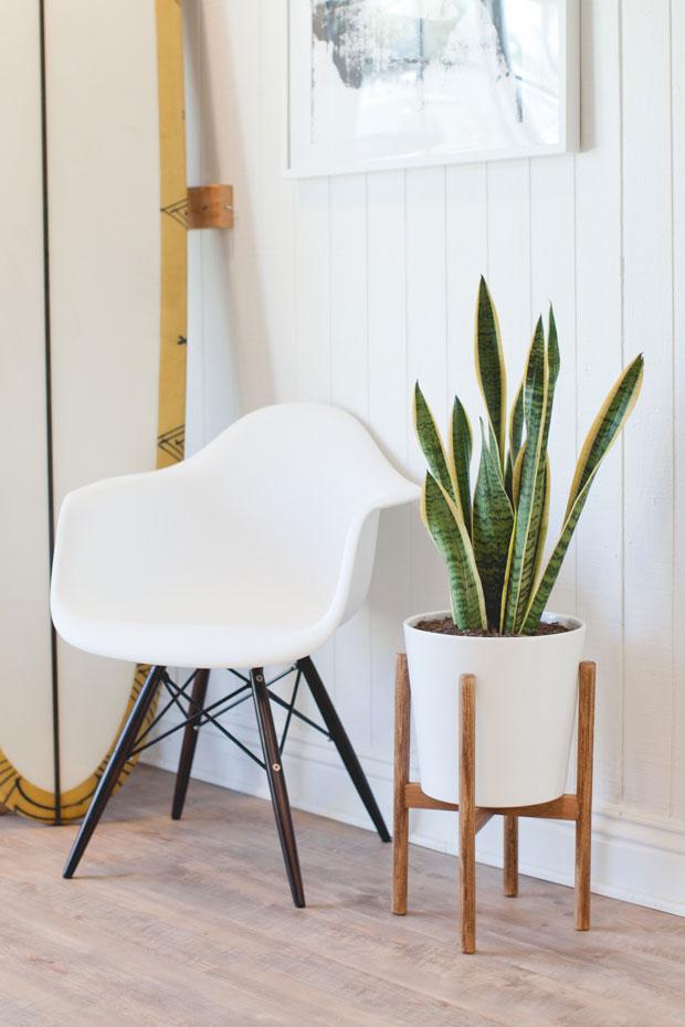 DIY plantenstandaard zelf maken