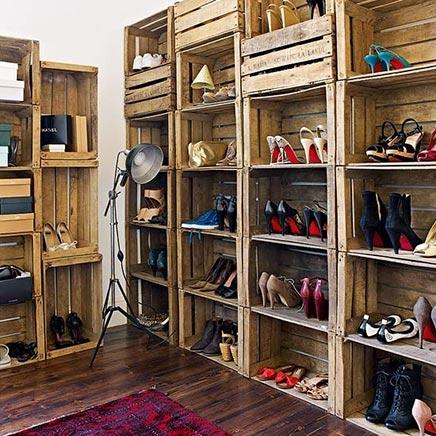 DIY schoenenkast