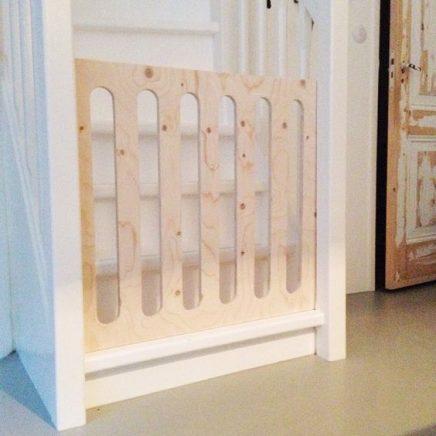 DIY traphekjes van underlayment