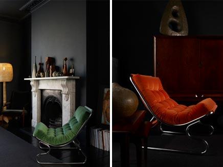Donkere Vintage Woonkamer : Donkere vintage woonkamer inrichting huis.com