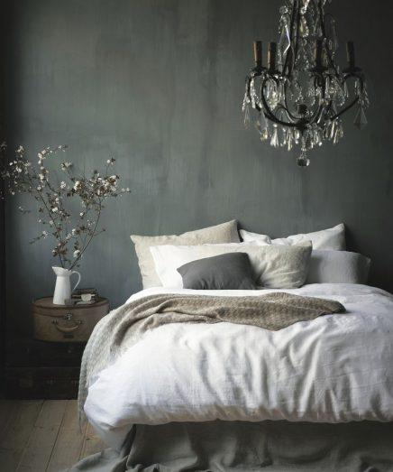 Slaapkamer Ideeen Grijs Wit: Slaapkamer ideeen zwart wit grijs room ...