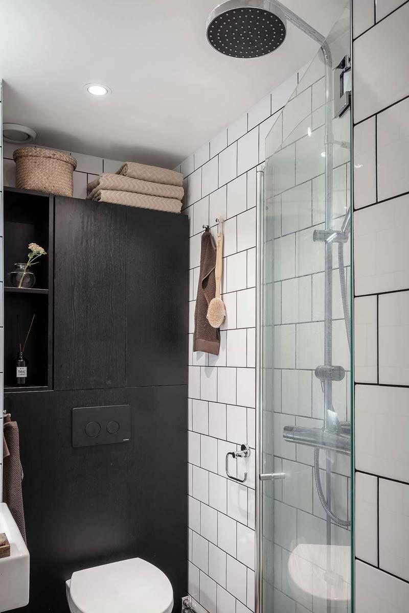 douche kleine badkamer