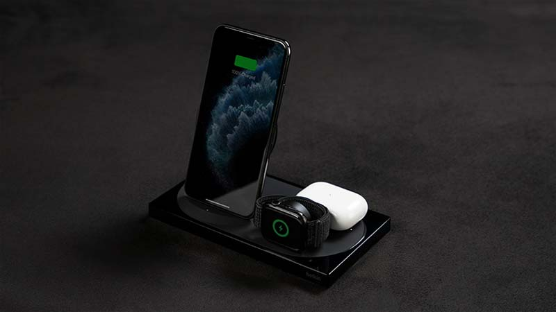 draadloze oplader iphone belkin boost charge 3-in-1