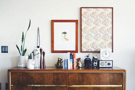 Dressoir decoratie ideeën inrichting huis
