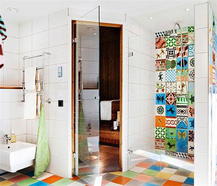 Droom badkamer van Nick & Jenny