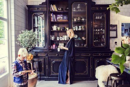 Het droomhuis van voormalig model Malin Persson