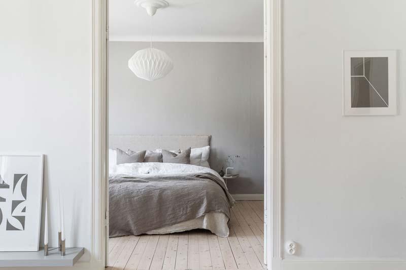 dubbele deuren naar slaapkamer