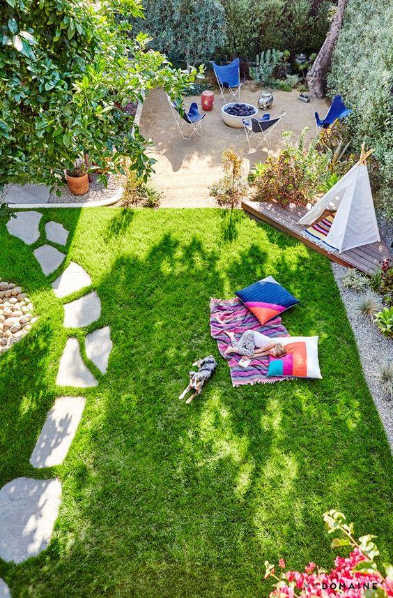 Duurzame tuin inrichting for Wandrek tuin