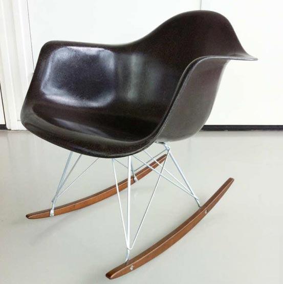 Eames rar rocker herman miller inrichting for Interieur hermans