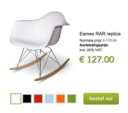 Vitra Rar Schommelstoel.Eames Rocking Chair Inrichting Huis Com