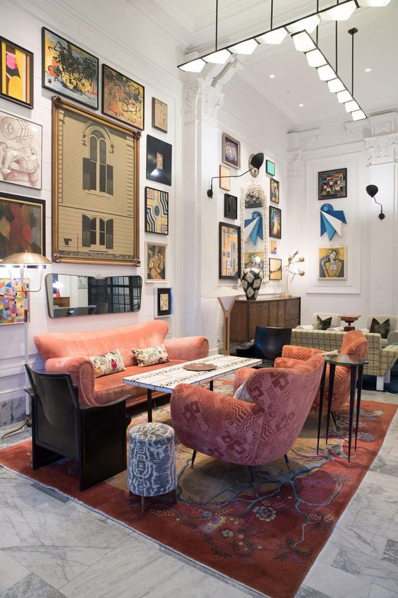 eclectisch interieur indeling