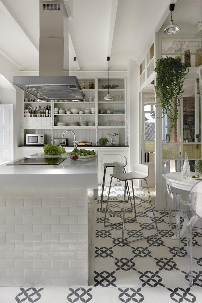 Eclectische keuken droomhuis