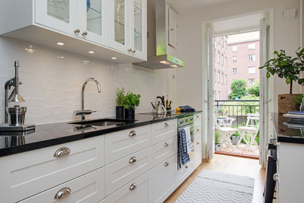Eenvoudige balkon inrichting