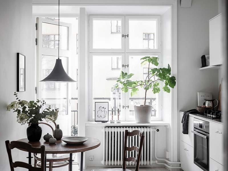 eettafel kleine keuken