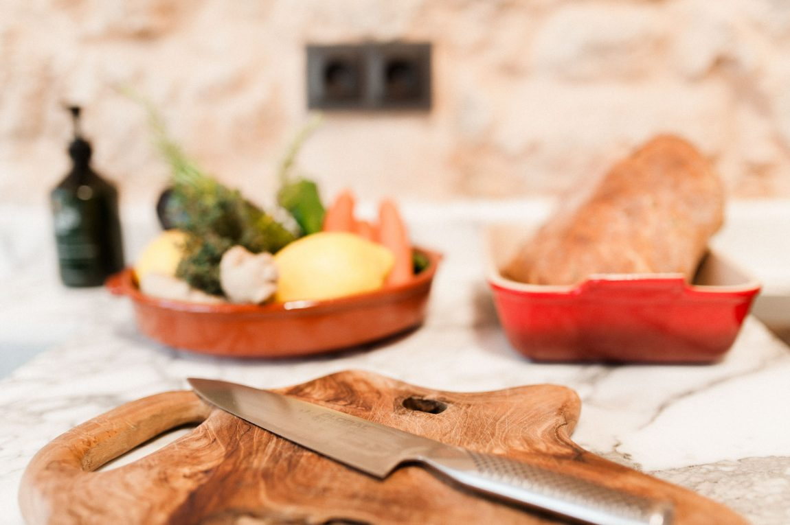 Egenstill keuken in een oude finca in ibiza inrichting - Keuken in het oude huis ...