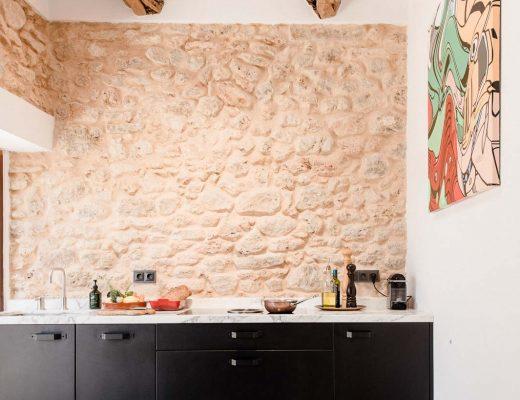 Egenstill keuken oude Finca Ibiza