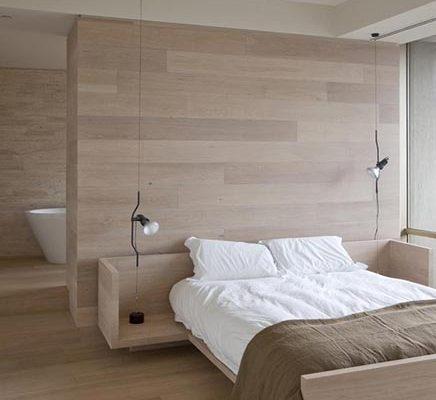 Eiken slaapkamer