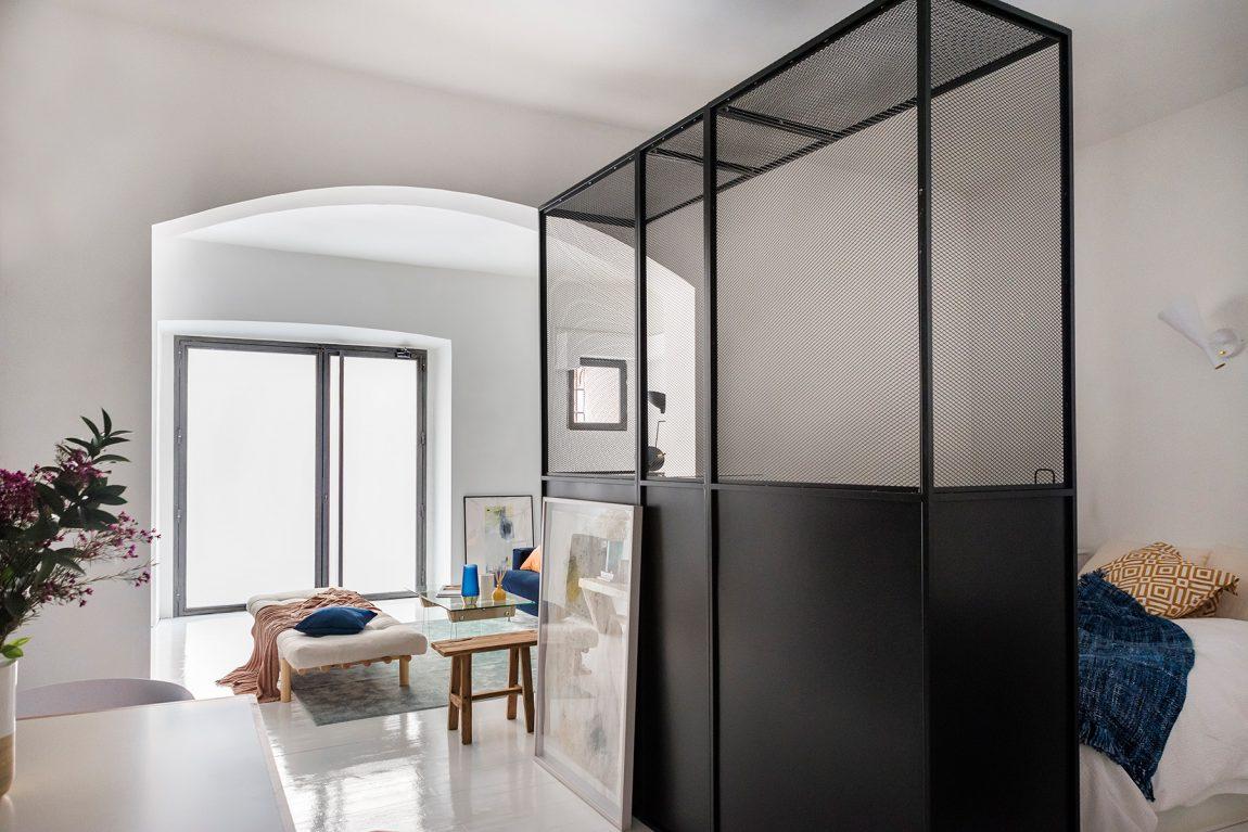 El Estudio heeft dit kleine appartement van 55m2 heel leuk ingericht!