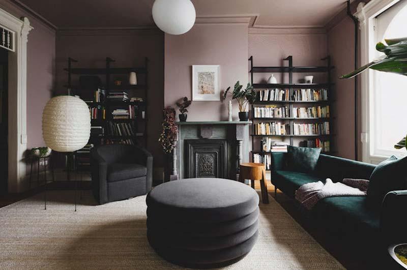 Elegant interieur in gedempte kleuren