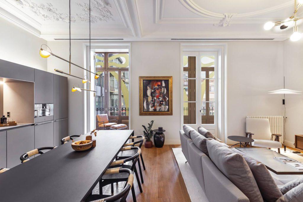 Elegant klassiek appartement uit Barcelona