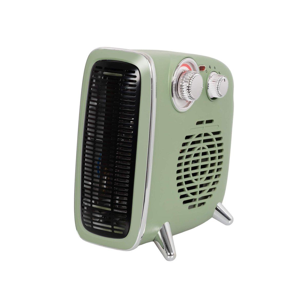 Eurom B-4 1800 Ventilatorkachel Retro Design 1800watt in het groen