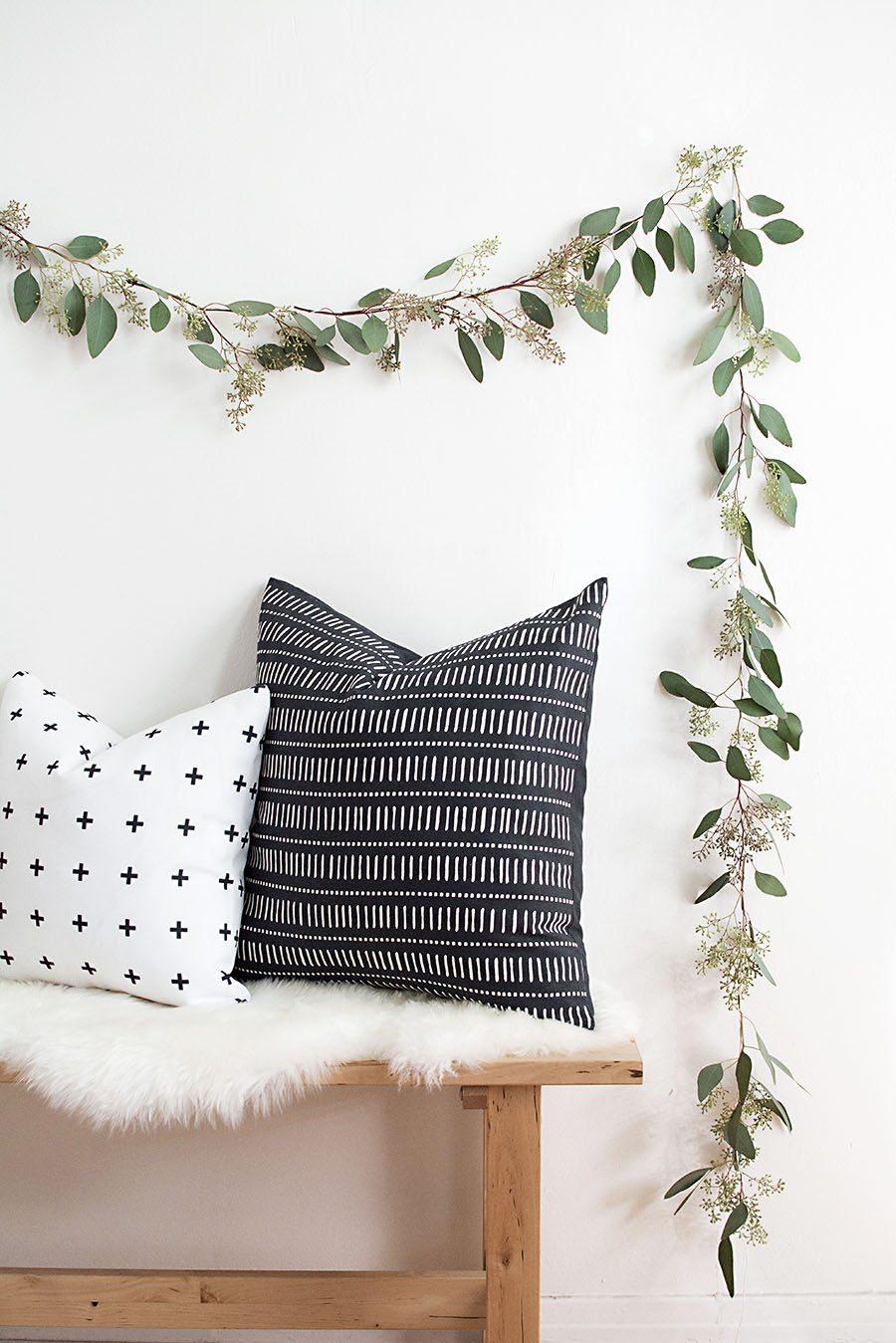 Eucalyptus kerstdecoratie