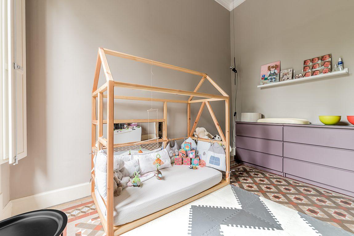 Exotische babyspeelkamer