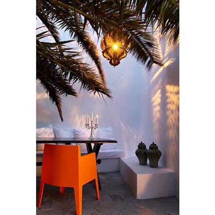 Exotische buitenruimtes op Skyros